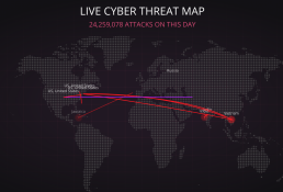 Live Interactive Threat Map
