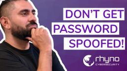 Don't get password spoofed