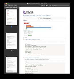 network-sample-report
