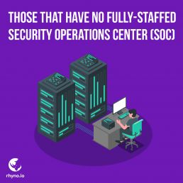 Those without fully-staffed security operations center