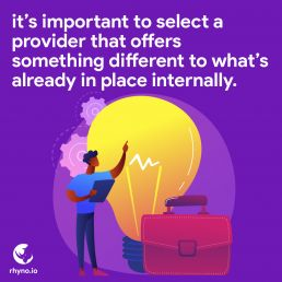 Services should be different to the rest everyone else is just offering