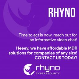 Time to act with rhyno cybersecurity
