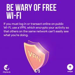 Be wary of Free Wi-Fi