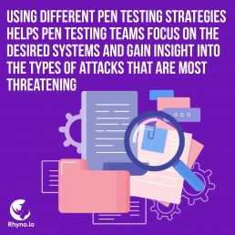 Using good and different penetration testing strategies for a strong cybersecurity